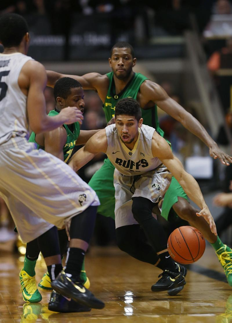 No. 20 Colorado hands 10th-ranked Oregon 1st loss