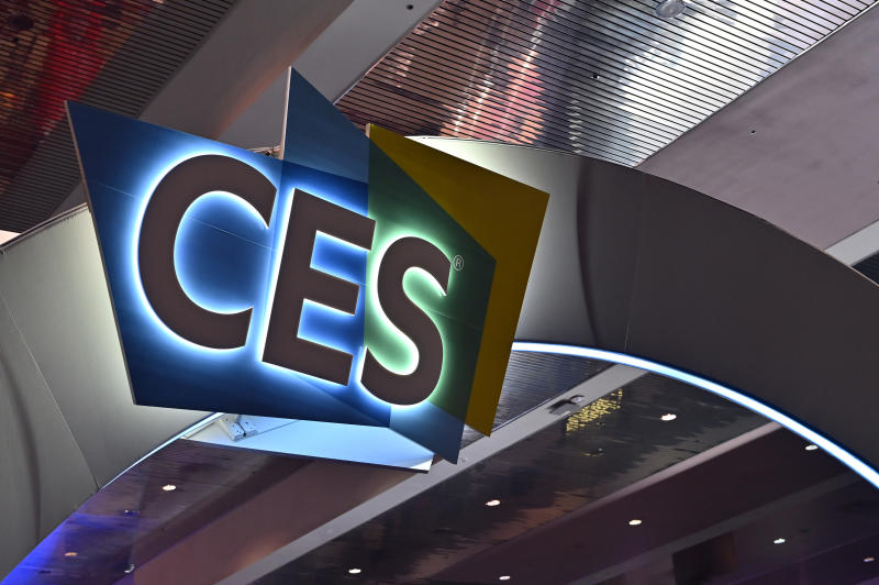 LAS VEGAS, NEVADA - JANUARY 07: The CES logo is displayed during CES 2020 at the Las Vegas Convention Center on January 7, 2020 in Las Vegas, Nevada. CES, the world's largest annual consumer technology trade show, runs through January 10 and features about 4,500 exhibitors showing off their latest products and services to more than 170,000 attendees. (Photo by David Becker/Getty Images)