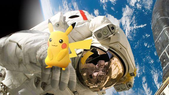 Sorry, astronauts: You can't play 'Pokémon Go' in space