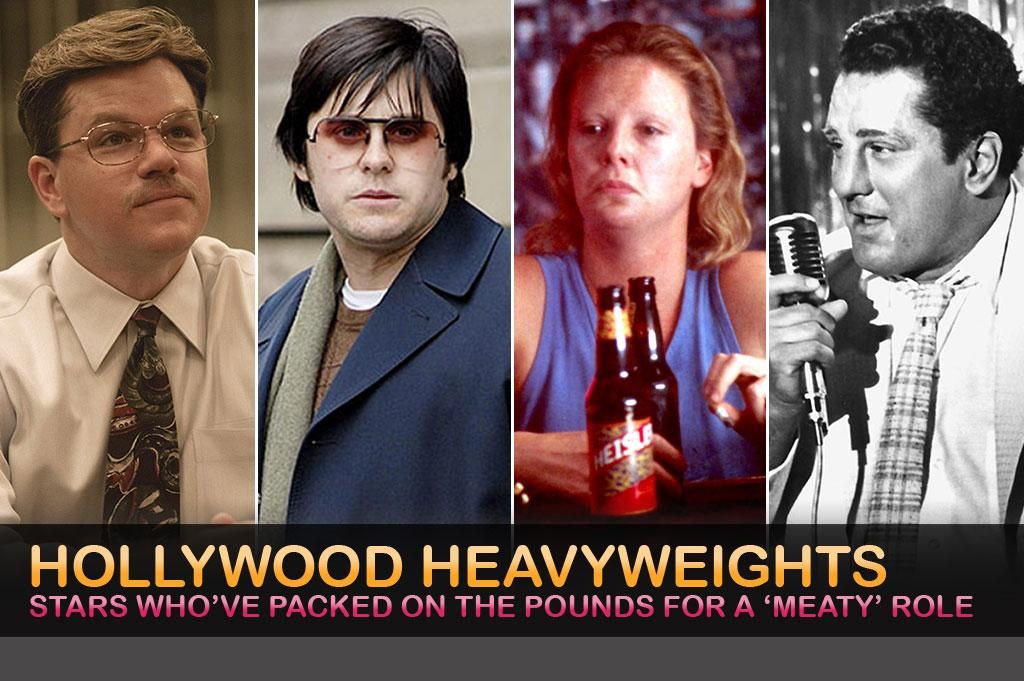 These Hollywood stars -- Matt Damon, Jared Leto, Charlize Theron, and Robert De Niro -- are just a few of the actors who've fattened themselves up for a role. Click on to find out which celebs have eaten their vanity and packed on the pounds, all in the name of art!