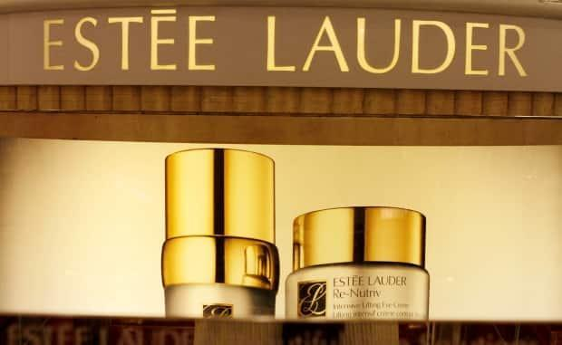 Estee Lauder products are displayed at a department store in South Portland, Maine. The company may want to keep its Deciem products at a low price point, one expert says.