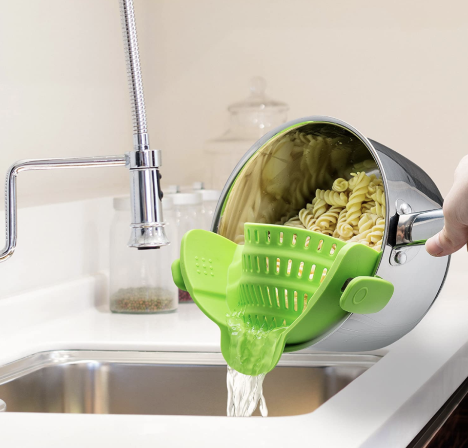 You'll never use a standard strainer again. (Photo: Amazon)