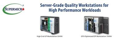 Supermicro Expands High-Performance SuperWorkstation System