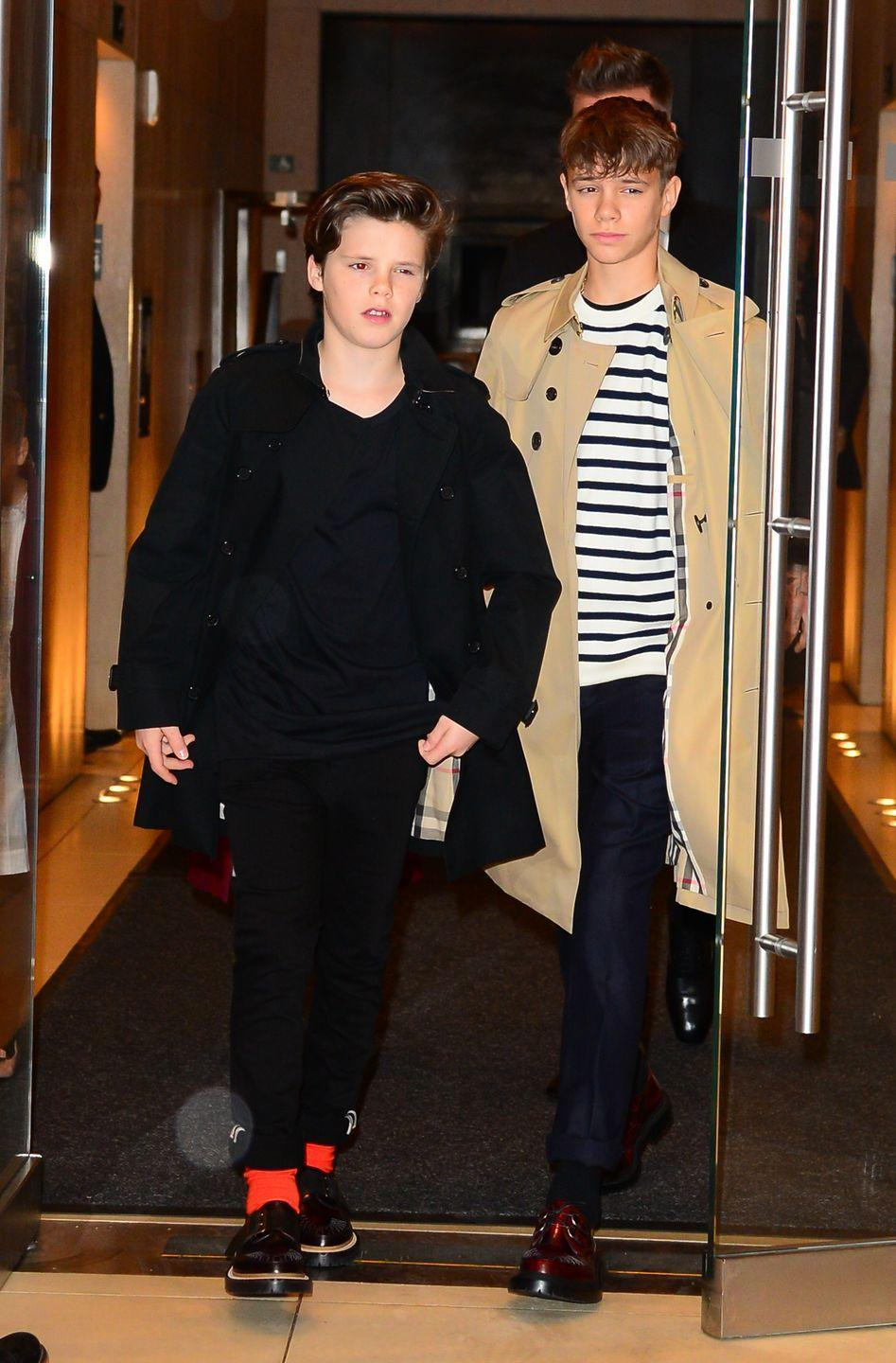 Victoria Beckham's New Family Portrait Shows How Grown Up Romeo and Cruz Have Become