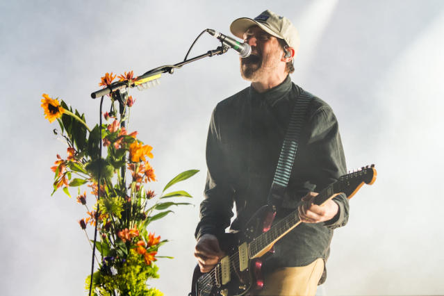 <p>NEW ORLEANS, LA – OCTOBER 28: Jesse Lacey of the band Brand New performs during the 2017 Voodoo Music + Arts Experience at City Park on October 28, 2017 in New Orleans, Louisiana. (Photo by Erika Goldring/Getty Images) </p>