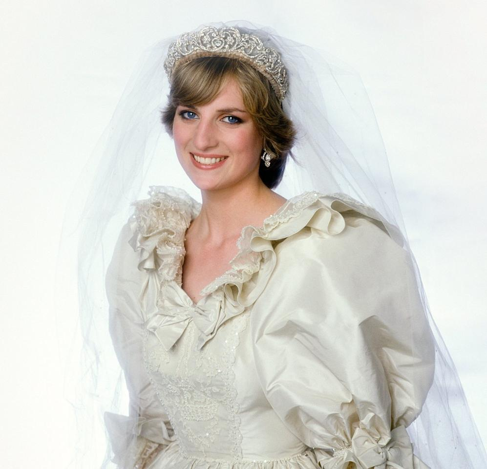 """Diana walked down the aisle of St. Paul's Cathedral wearing one of her favorite scents: Quelques Fleurs. But according to her makeup artist, it almost wore her.  Barbara Daly famously revealed that the young princess, then 20 years old, <a href=""""https://people.com/royals/princess-dianas-wedding-day-perfume/"""">accidentally spilled some perfume on her dress</a> as she tried to put some on her wrists after getting dressed in the world famous bridal gown.  According to Daly, she told her to simply hold that spot on her dress as she was walking to make it seem like she was lifting the front of her dress so she didn't step on it. She was even spotted trying to cover the spot where the perfume spilled with her hand as she approached the altar."""