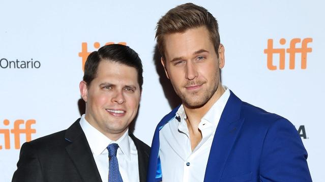 Actor Dan Amboyer surprised fans over the weekend by marrying his boyfriend, Eric Berger, in New York.