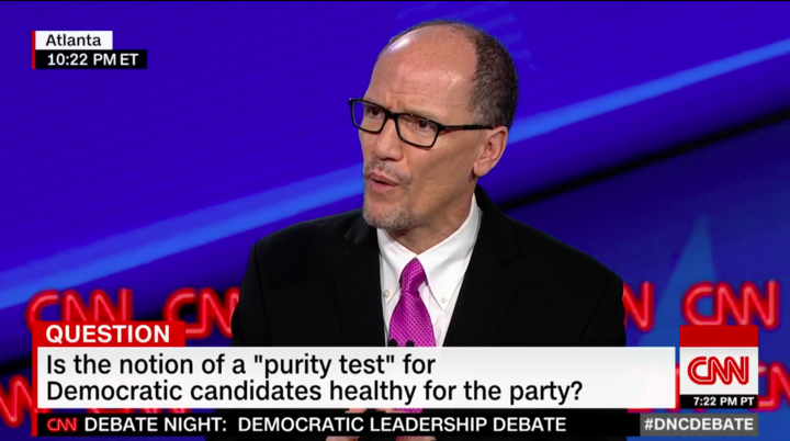 Former Labor Secretary Tom Perez (Screenshot: CNN/Twitter)