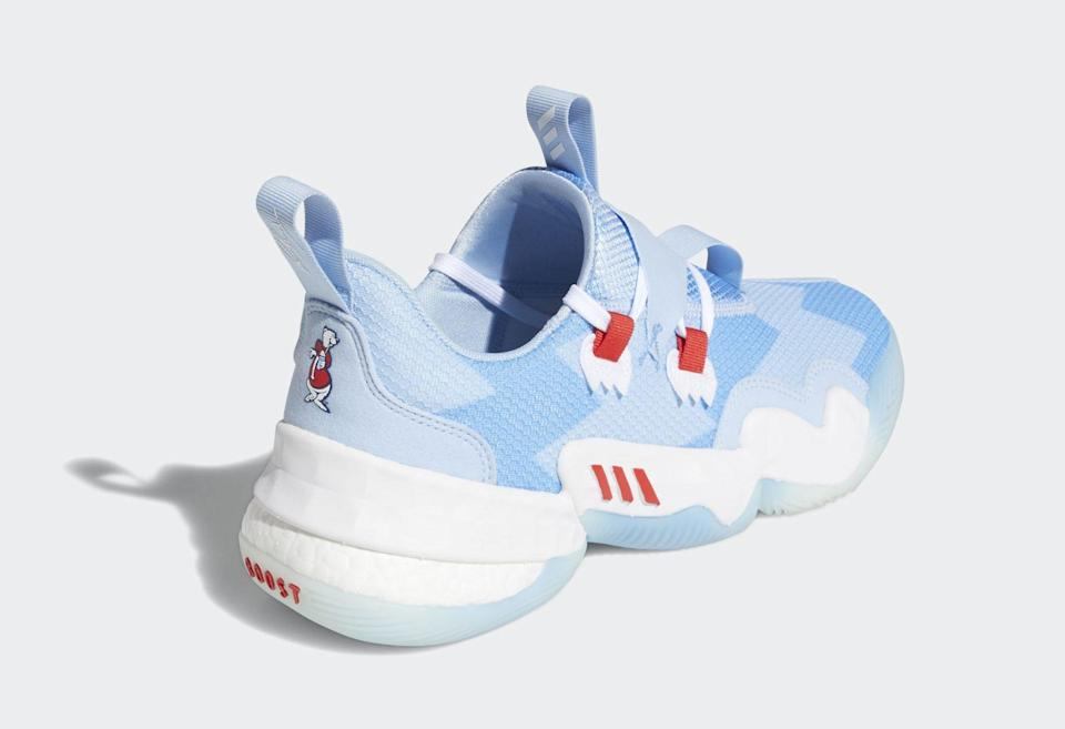 The heel's view of the Adidas Trae Young 1. - Credit: Courtesy of Adidas