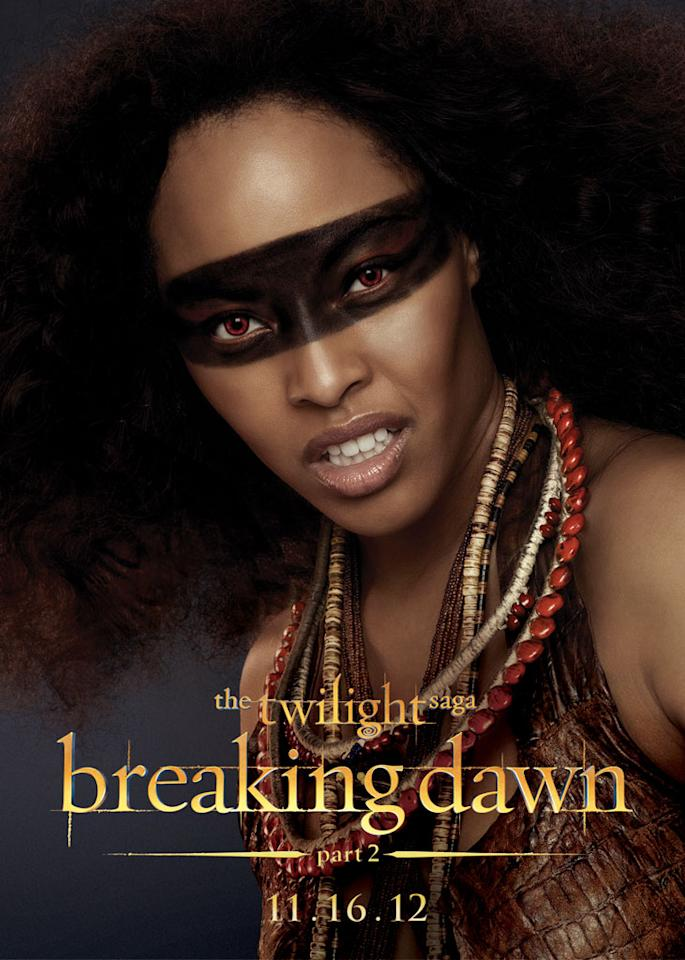 "Tracey Heggins as Senna in Summit Entertainment's ""The Twilight Saga: Breaking Dawn - Part 2"" - 2012"