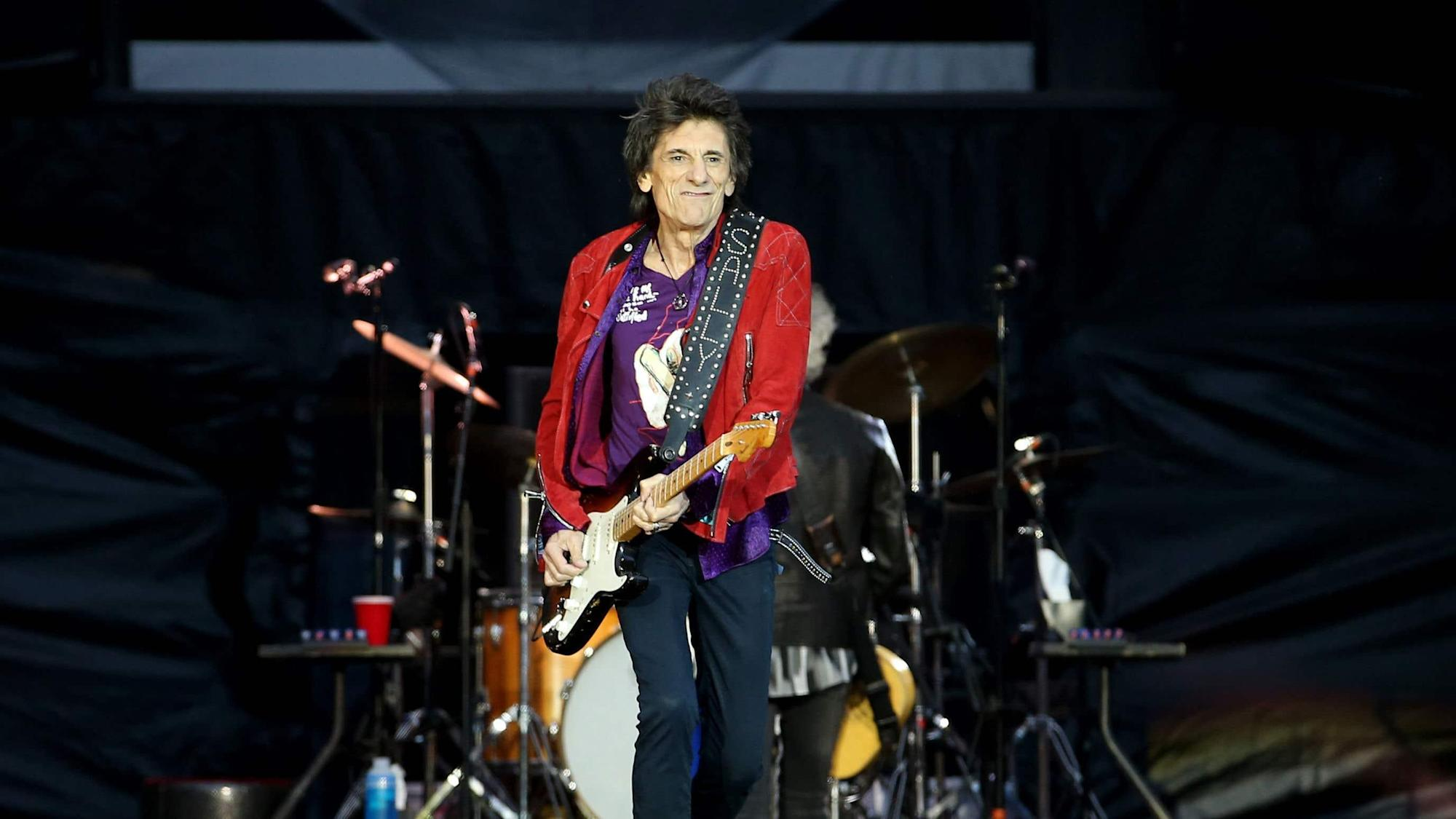 The Rolling Stones' Ronnie Wood honoured with Freedom of the City of London
