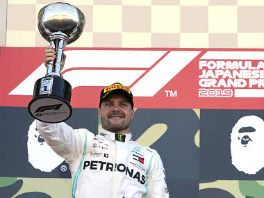 Formula 1 2019: Valtteri Bottas cruises to victory in Japanese Grand Prix as Mercedes secure Constructors' Championship