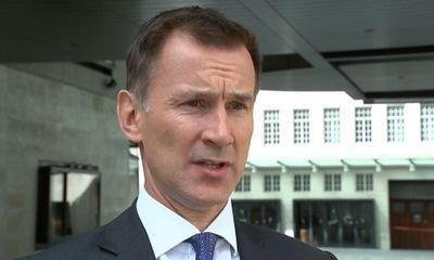 Jeremy Hunt: Businesses criticising Brexit progress are 'completely inappropriate'
