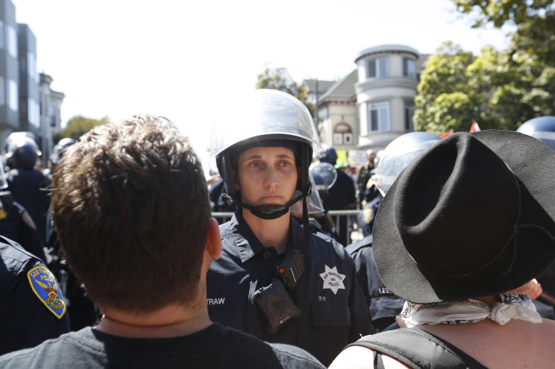 Police Release Mugshots of 13 Protesters Arrested at Berkeley Rally