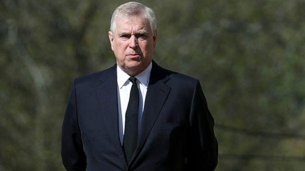 PHOTO: Prince Andrew, Duke of York on April 11, 2021 in Windsor, England. (Steve Parsons/WPA Pool/Getty Images, FILE)