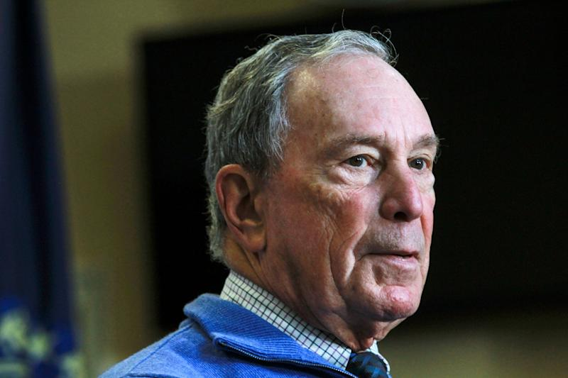 Michael Bloomberg, the billionaire former mayor of New York City, has pumped more than $40 million into super PACs in October to support Democrats. (Photo: ASSOCIATED PRESS)