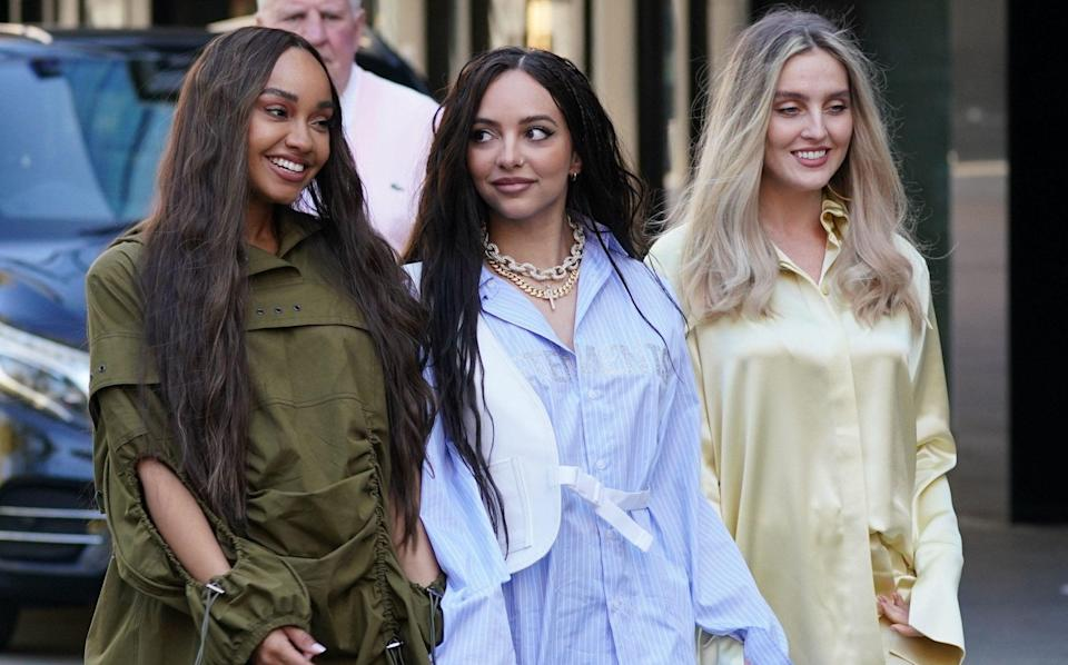 Little Mix: Leigh-Anne Pinnock, Jade Thirlwall and Perrie Edwards - PA