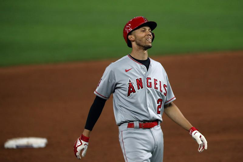 Angels shortstop Andrelton Simmons has opted out of the remainder of the 2020 MLB season. (Photo by Ronald Martinez/Getty Images)