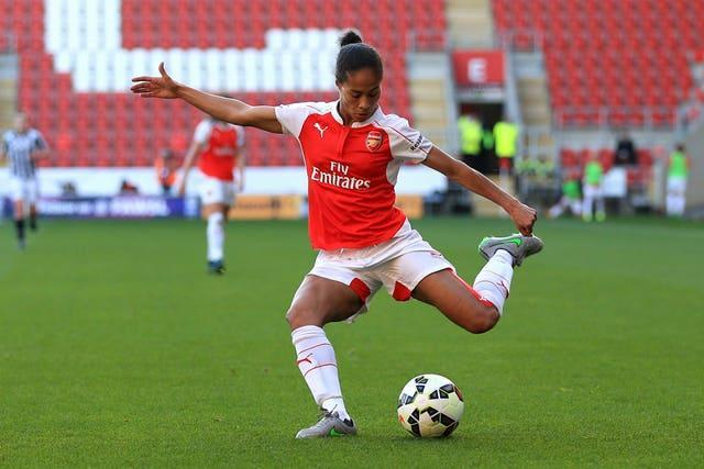 Rachel Yankey was announced as the Hall of Fame's second inductee (Nigel French/PA).