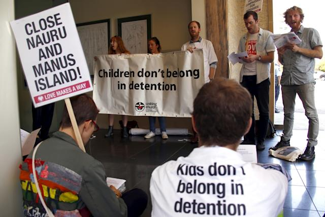 Nauru Detention Camp