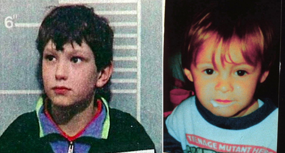 <em>Jon Venables (left), who murdered toddler James Bulger (right) has been jailed for a second time for possessing child abuse images (PA/Rex)</em>