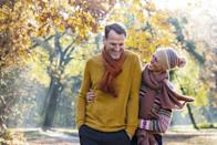 <p>Colorful trees are just one highlight of autumn, and if you haven't stopped to take a gander, you're seriously missing out. Grab your sweetie, bundle up for the weather, and take a walk or a drive to enjoy the natural splendor. </p>