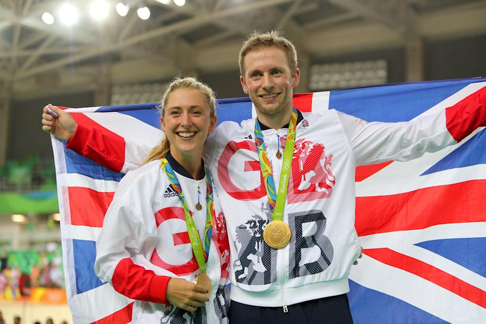 Laura and Jason Kenny are Team GB's golden couple (David Davies/PA) (PA Wire)