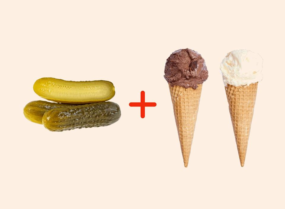 pickled with ice cream amazing food pairings