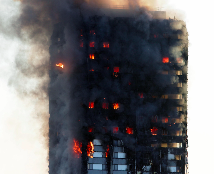 79 people have been confirmed dead so far as a result of the Grenfell Tower fire (Rex)