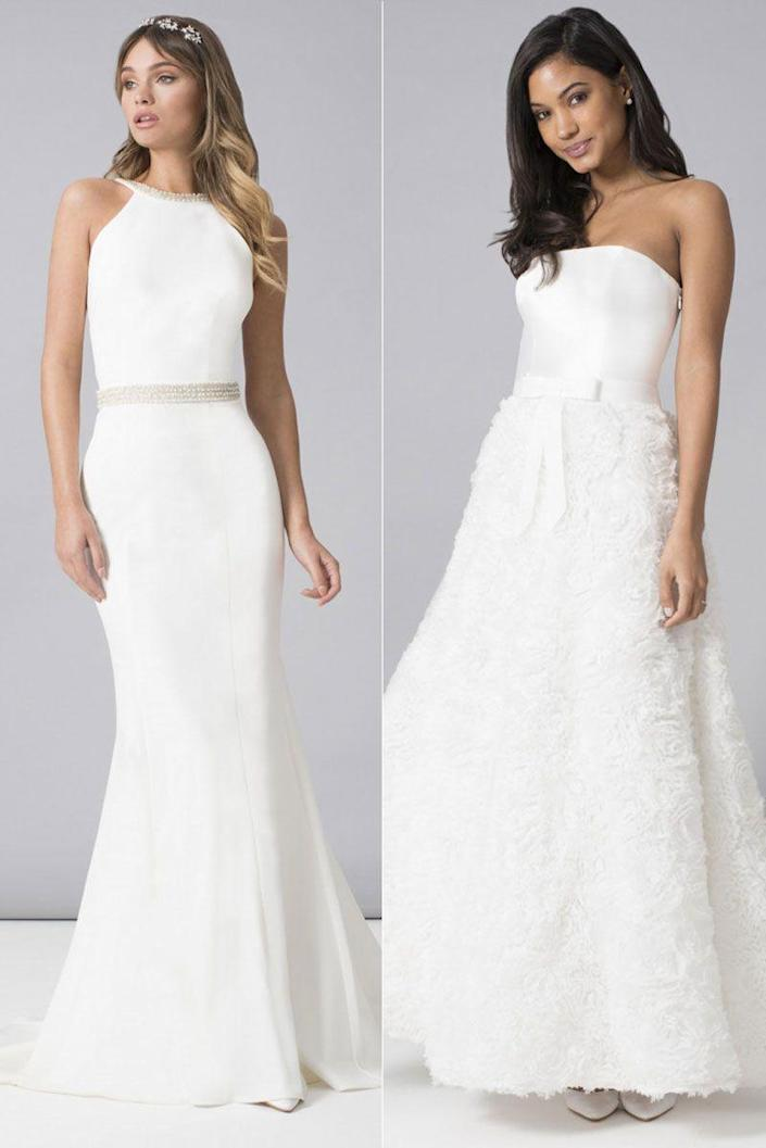 "<p>Chi Chi's affordable range of wedding dresses will appeal to any bride - whether you want elegant luxury or full-skirted princess dresses. Starting at just £75 and with a top price of £210, they're some of the more affordable options, even on the high street.</p><p>Hannah dress (L), £140 <a class=""link rapid-noclick-resp"" href=""https://go.redirectingat.com?id=127X1599956&url=https%3A%2F%2Fwww.chichiclothing.com%2Fproducts%2FChi-Chi-Bridal-Hannah-Dress.html&sref=http%3A%2F%2Fwww.cosmopolitan.com%2Fuk%2Ffashion%2Fstyle%2Fg4924%2Fhigh-street-brands-that-sell-wedding-dresses%2F"" rel=""nofollow noopener"" target=""_blank"" data-ylk=""slk:BUY NOW"">BUY NOW</a></p><p>Mary dress (R), £65 <a class=""link rapid-noclick-resp"" href=""https://go.redirectingat.com?id=127X1599956&url=https%3A%2F%2Fwww.chichiclothing.com%2Fproducts%2FChi-Chi-Bridal-Mary-Dress.html&sref=http%3A%2F%2Fwww.cosmopolitan.com%2Fuk%2Ffashion%2Fstyle%2Fg4924%2Fhigh-street-brands-that-sell-wedding-dresses%2F"" rel=""nofollow noopener"" target=""_blank"" data-ylk=""slk:BUY NOW"">BUY NOW</a></p>"