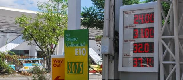 Gas prices posted