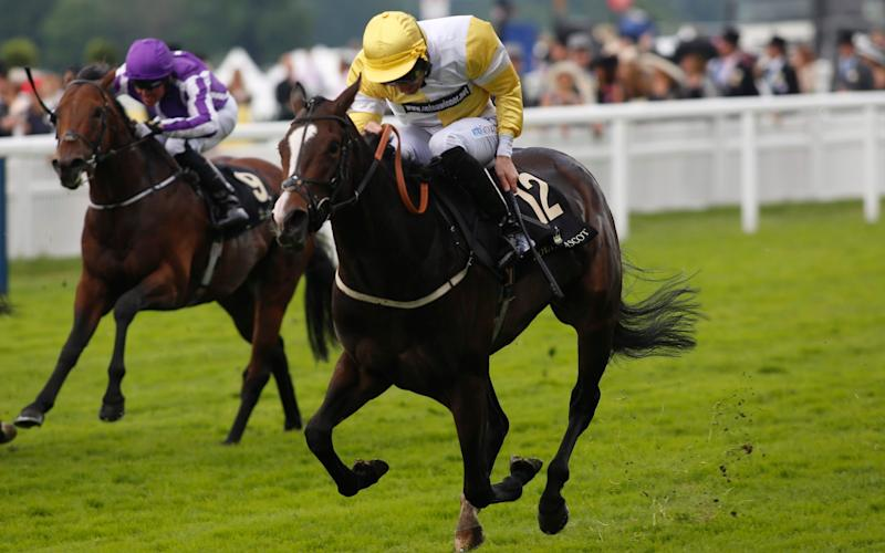 Quiet Reflection ridden by Dougie Costello wins The Commonwealth Cup Race - Credit: Julian Herbert/Getty