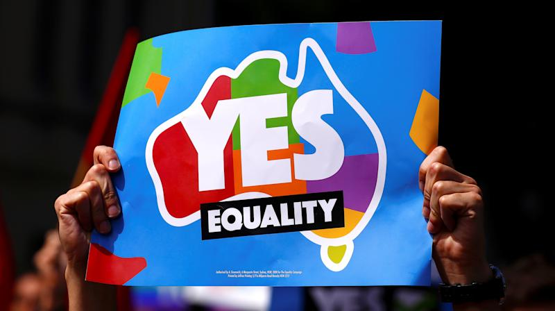 Celebrities Applaud Australians For Supporting Same-Sex Marriage