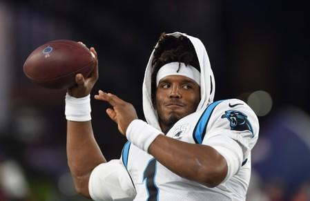 Reports: Panthers quarterback Newton walking without boot