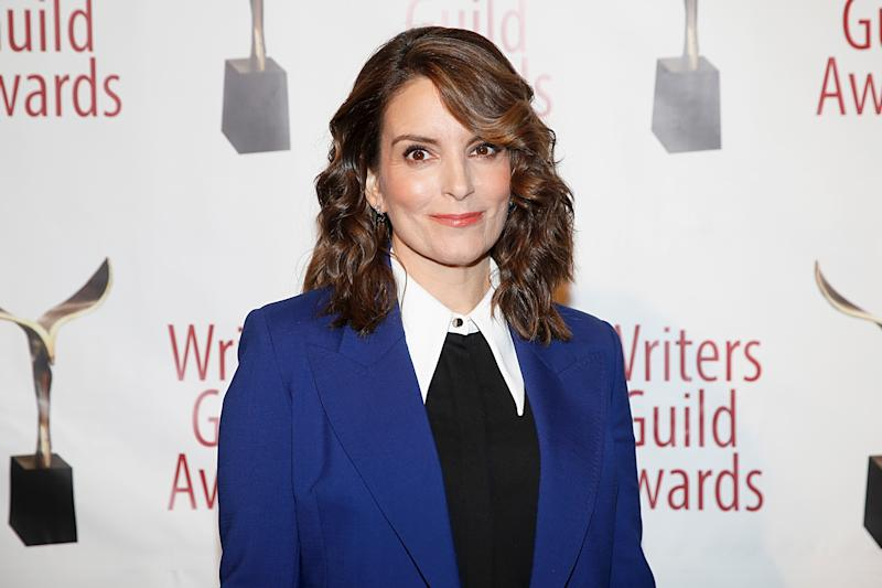 Tina Fey attends the 72nd Writers Guild Awards at Edison Ballroom on February 01, 2020 in New York City.