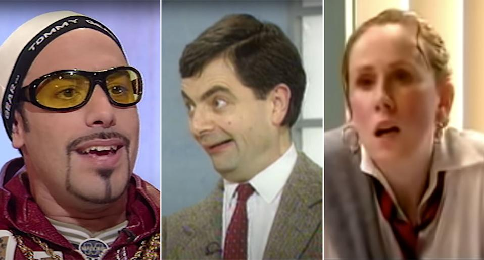 Ali G, Mr Bean, and Catherine Tate have all made iconic Comic Relief sketches (BBC/Comic Relief)