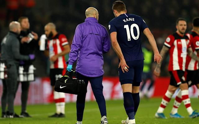 Michael Davison, head of international at Isokinetic Medical Group and a sports medicine specialist, said Spurs' original return time frame was 'realistic' - AFP