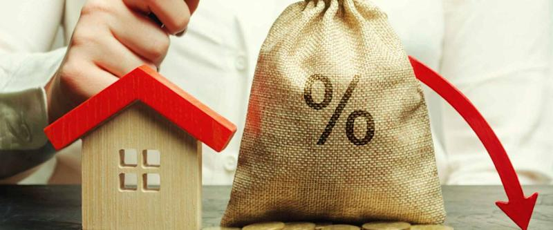 the concept of falling mortgage interest rates