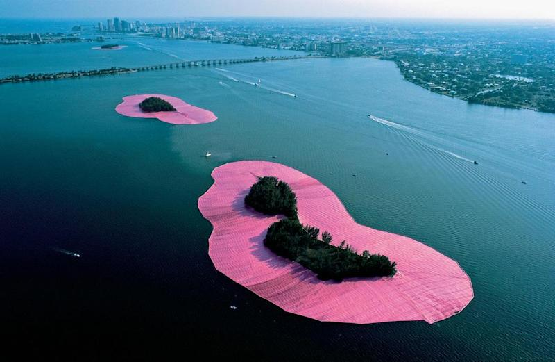 Christo and Jeanne-Claude's stunning pink