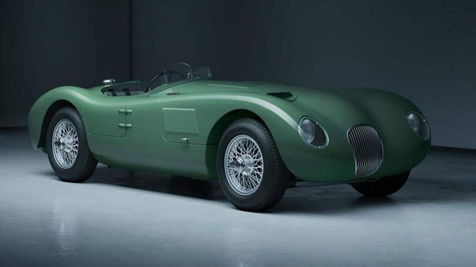 Jaguar celebrates 70 years of C-Type car with limited-run model