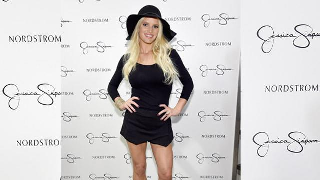 Jessica Simpson Shows Off Incredibly Skinny Legs While Vacationing in St. Barts for 35th Birthday