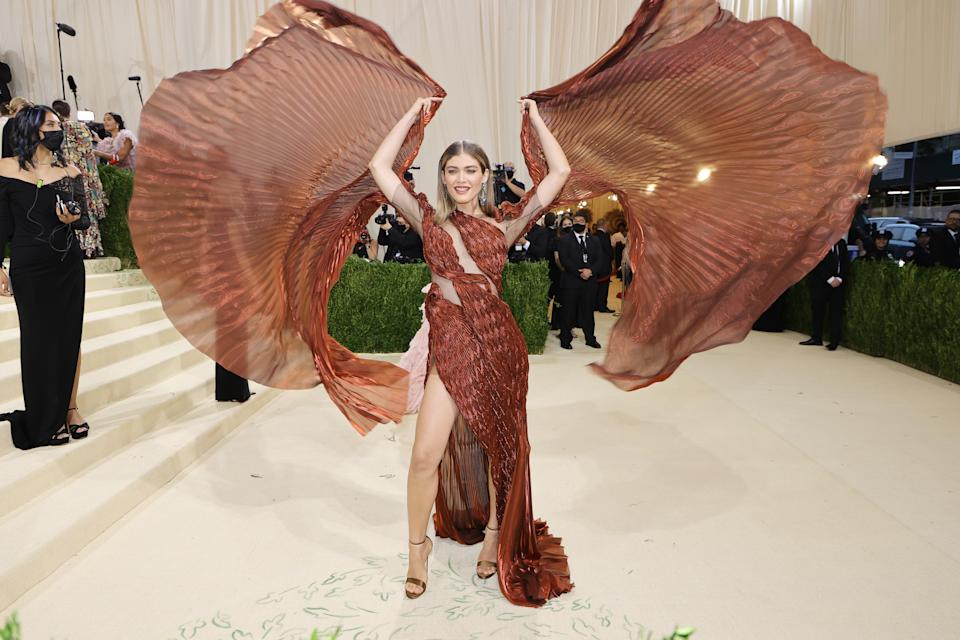 <p>Valentina Sampaio. (Photo by Mike Coppola/Getty Images)</p>