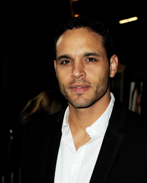 Daniel Sunjata arrives at the premiere of Summit Entertainment's 'Gone' at the Arclight Theater, Los Angeles, on February 21, 2012 -- Getty Images