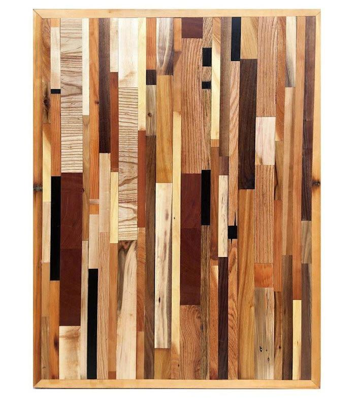 """This New York-based Etsy shop specializes in upcycled wood and pallet art. Shop this <a href=""""https://fave.co/2UqVb5Z"""" rel=""""nofollow noopener"""" target=""""_blank"""" data-ylk=""""slk:Young Coffee Table/Wall Art for $400"""" class=""""link rapid-noclick-resp"""">Young Coffee Table/Wall Art for $400</a> at <a href=""""https://fave.co/2MOJAt3"""" rel=""""nofollow noopener"""" target=""""_blank"""" data-ylk=""""slk:South End Pallet Works on Etsy."""" class=""""link rapid-noclick-resp"""">South End Pallet Works on Etsy.</a>"""