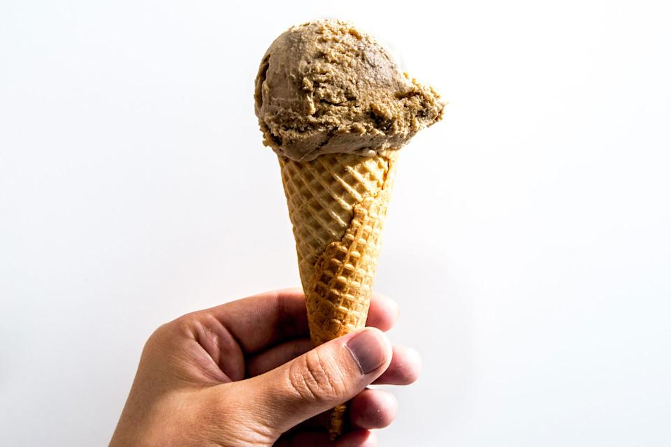 "For an even deeper, nutty flavor, toast the cashews first (or buy them that way, but make sure they're unsalted). Skeptical? Think hazelnut coffee, but with cashews instead. <a href=""https://www.bonappetit.com/recipe/coffee-cashew-vegan-ice-cream?mbid=synd_yahoo_rss"" rel=""nofollow noopener"" target=""_blank"" data-ylk=""slk:See recipe."" class=""link rapid-noclick-resp"">See recipe.</a>"