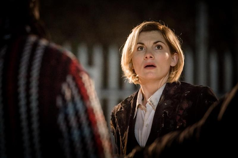 Winner? Jodie Whittaker could win an award for her role as the Thirteenth Doctor already (BBC)