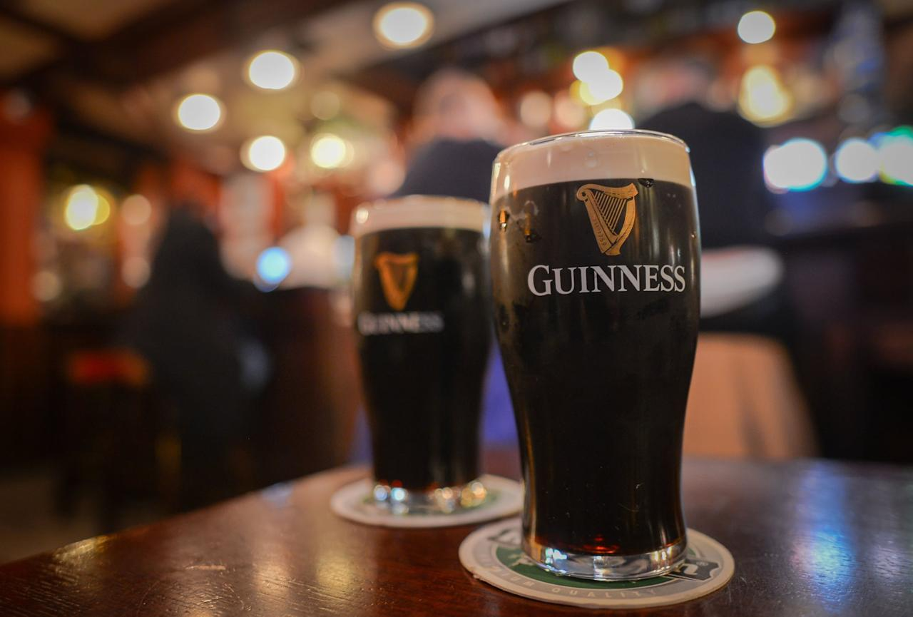 """<p>Visiting the <a href=""""http://www.guinness-storehouse.com/en/st-patricks-day"""" target=""""_blank"""" class=""""ga-track"""" data-ga-category=""""Related"""" data-ga-label=""""http://www.guinness-storehouse.com/en/st-patricks-day"""" data-ga-action=""""In-Line Links"""">Guinness Storehouse</a> is a must-do at some point during your visit to see where the magic happens and to pour your own pint. Over the five days of the St. Patrick's Day Festival, you can expect to find Irish music, food, and dancing at the Storehouse, as well as one of the best panoramic views of the city from the Gravity Bar.</p>"""