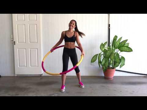 """<p>Instructor Rachel says this workout is best done with a <a href=""""https://www.womenshealthmag.com/uk/fitness/g35854296/weighted-hula-hoops/"""" rel=""""nofollow noopener"""" target=""""_blank"""" data-ylk=""""slk:weighted hula hoop"""" class=""""link rapid-noclick-resp"""">weighted hula hoop</a> to maximise the amount of work you need to put in. Adding extra resistance around your middle will force the rest of your body to work harder against the added resistance. </p><p><a href=""""https://www.youtube.com/watch?v=ruAZqaf_-PI&t=2s&ab_channel=PincActive"""" rel=""""nofollow noopener"""" target=""""_blank"""" data-ylk=""""slk:See the original post on Youtube"""" class=""""link rapid-noclick-resp"""">See the original post on Youtube</a></p>"""