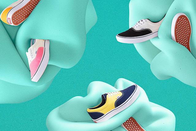 These sneakers have a heavenly layer of foam hiding inside