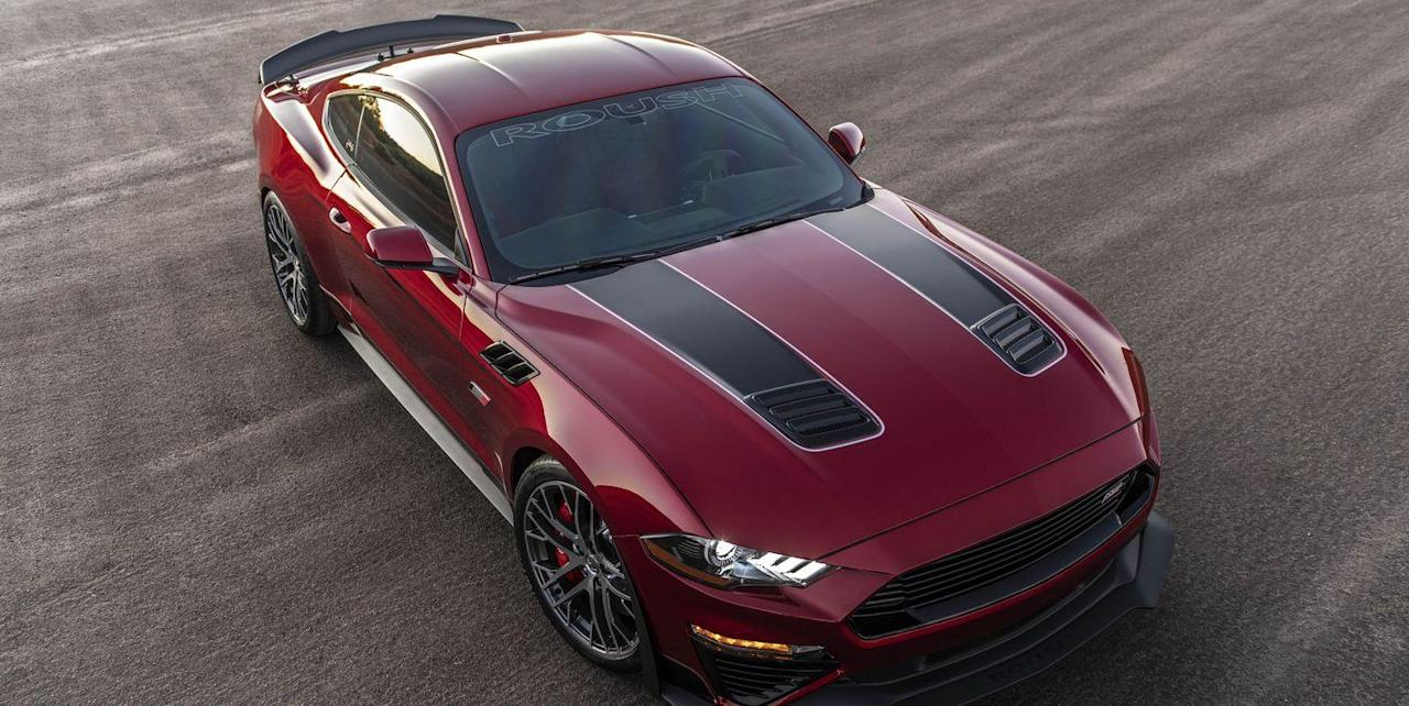 Ford Mustang Jack Roush Edition Has It All: 775 HP and a Manual Transmission